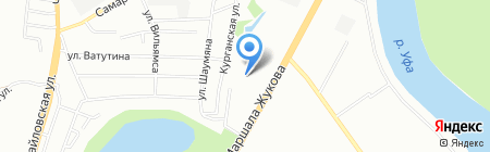 Аеро-Хелп на карте Уфы
