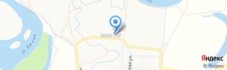 Селеук на карте Стерлитамака