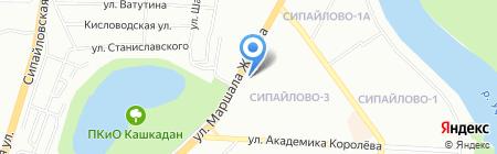 ОхотАктив на карте Уфы