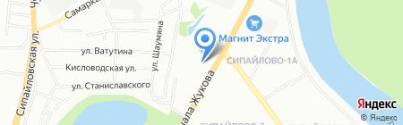 ВЕСТ на карте Уфы