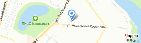 EVA на карте Уфы