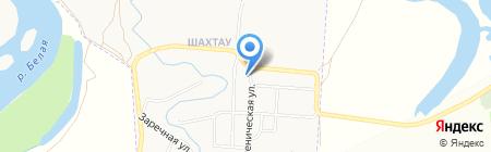Городской оздоровительный комплекс на карте Стерлитамака
