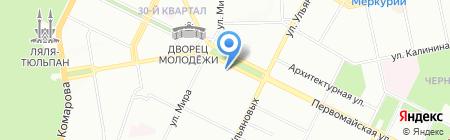 Банкомат МДМ Банк на карте Уфы