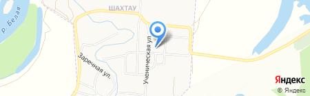 Средняя общеобразовательная школа №9 на карте Стерлитамака