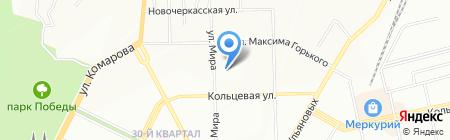 Вирэн на карте Уфы