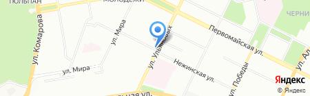 Сфинкс на карте Уфы
