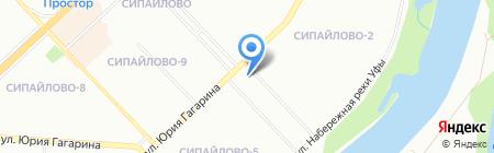 Магазин трав на карте Уфы
