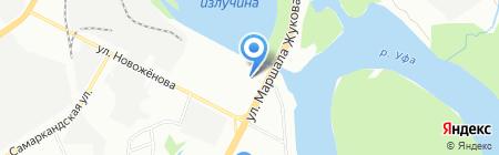 Чердак на карте Уфы