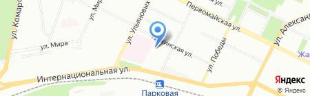 МАРКЕР ИГРУШКА на карте Уфы