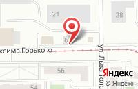 Схема проезда до компании Инженерный Центр «Трубопроводсервис» в Уфе