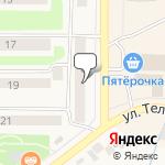 Магазин салютов Чернушка- расположение пункта самовывоза