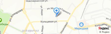 Башнефть-Сервис на карте Уфы