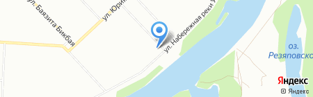 Велле на карте Уфы