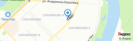 БашМеталлГарант на карте Уфы