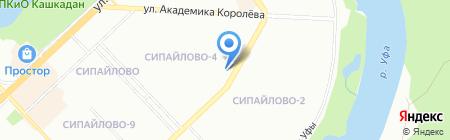 Банкомат МТС-Банк на карте Уфы