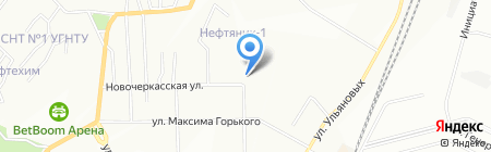 Башкирские инженерные сети+ на карте Уфы