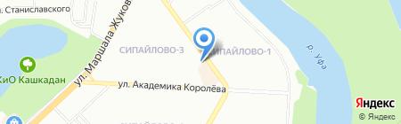 АВТОСТИЛЬ+ на карте Уфы