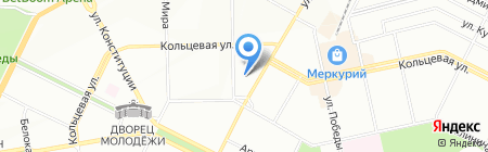 Софит Потолок на карте Уфы
