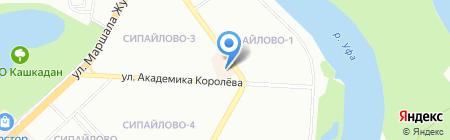 Банкомат АИКБ Татфондбанк на карте Уфы