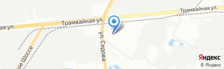 Пролайн на карте Уфы