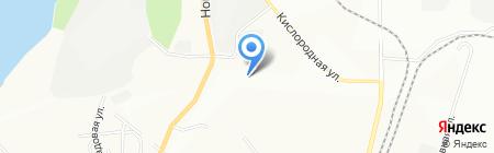 Электросфера на карте Уфы