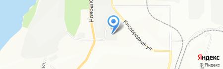 Рабочая спецодежда на карте Уфы