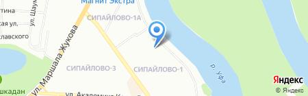 Рататуй на карте Уфы