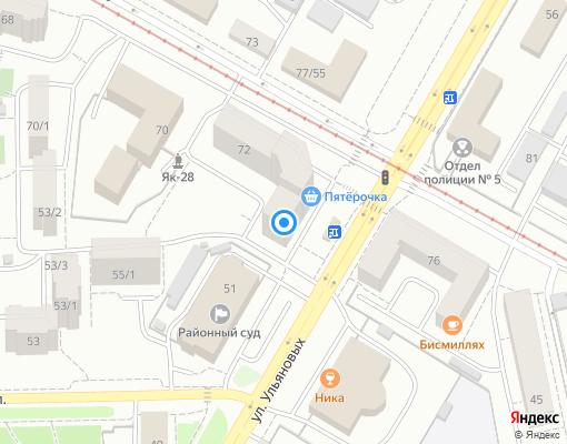 Товарищество собственников жилья «Спектр» на карте Уфы