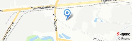 Стодомов.рф на карте Уфы
