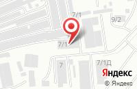 Схема проезда до компании Сакура в Уфе