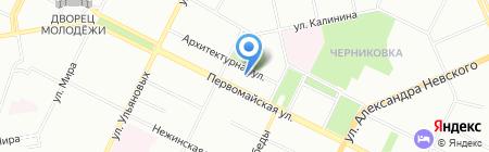 Детский сад №21 на карте Уфы