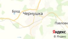 Отели города Чернушка на карте