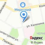 Московская ярмарка на карте Уфы