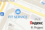 Схема проезда до компании КАНКОР-МЕБЕЛЬ в Уфе