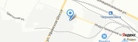 Пожбезопасность на карте Уфы