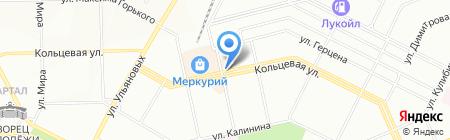 Нижегородский на карте Уфы