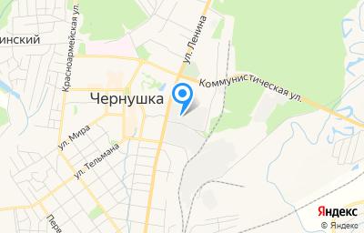 Местоположение на карте пункта техосмотра по адресу Пермский край, г Чернушка, ул Ленина, д 42А