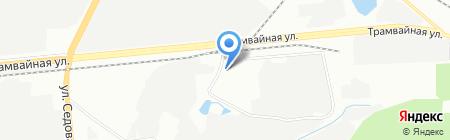 Сайдинг-Уфа на карте Уфы