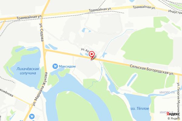 Офис продаж АвтоЕвро: Уфа (г. Уфа, Сельская Богородская ул., 57)