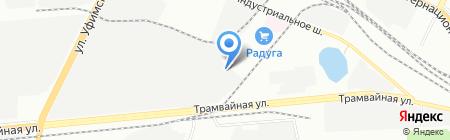 Уфимская автомобильная школа ДОСААФ России на карте Уфы