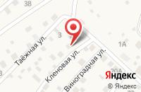 Схема проезда до компании Цветовик в Московском