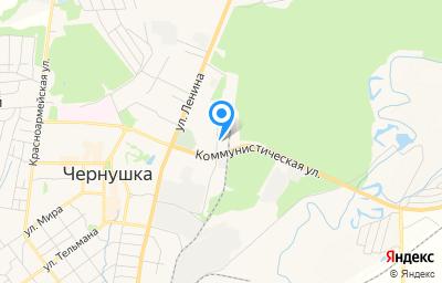 Местоположение на карте пункта техосмотра по адресу Пермский край, г Чернушка, ул Коммунистическая, д 2