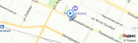Аника на карте Уфы