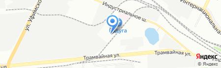 Люкс на карте Уфы