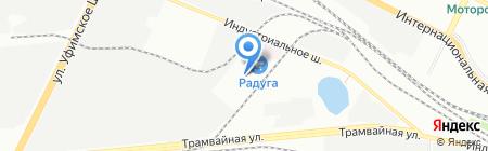 Город ворот на карте Уфы