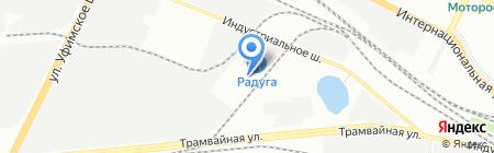 ЛЕВША на карте Уфы