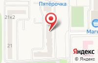 Схема проезда до компании Новостройки в Гамово