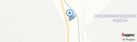 АЗС на карте Уфы