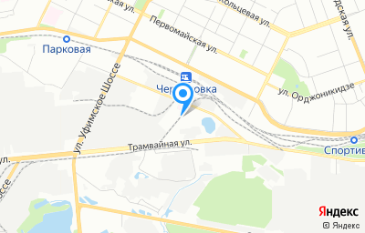 Местоположение на карте пункта техосмотра по адресу г Уфа, ул Индустриальное шоссе, д 46