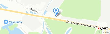 М-сервис на карте Уфы